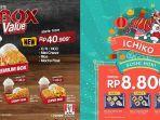 Awal Tahun 2020, KFC Tawarkan Paket Menu Baru Seharga Rp 40.909, Ichiban Beri Promo Rp 8.800