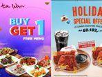 Libur Akhir Tahun, Sejumlah Restoran di Megamall Manado Beri Promo Khusus