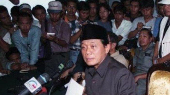 Profil Harmoko, Mantan Ketua DPR/ MPR dan Mantan Menteri Era Soeharto, Kini Wafat