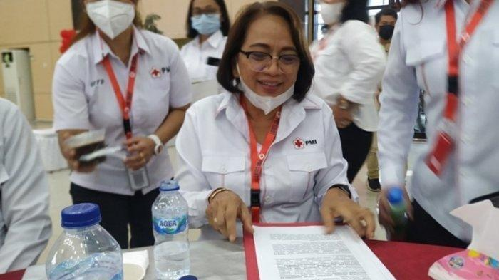 Giat Adakan Donor Darah, Annie Dondokambey Terpilih Menjadi Ketua PMI Sulut