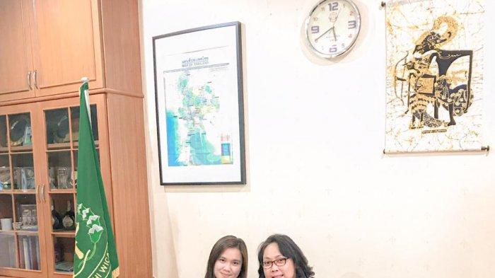 Kisah Caeli Mahasiswi IBA Unsrat Magang di Atase Kejagung KBRI Bangkok
