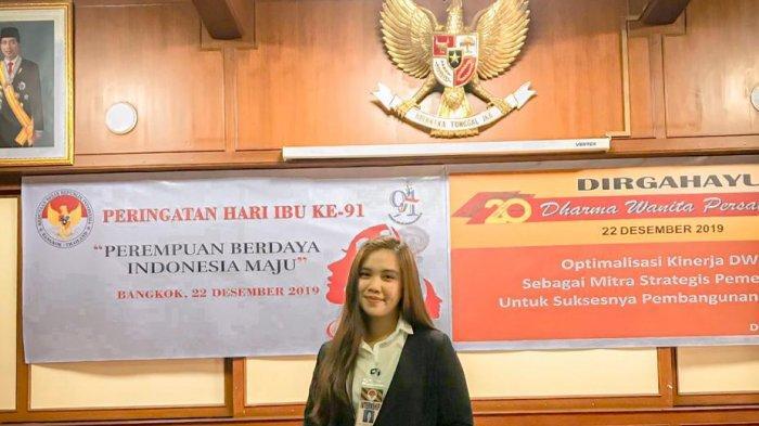 Pengalaman Mahasiswi Unsrat Magang di KBRI Bangkok