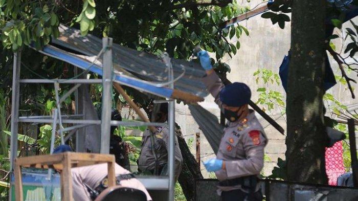Terjadi Ledakan di Banda Aceh, Hancurkan Gerobak Penjual Nasi, Satu Orang Terluka
