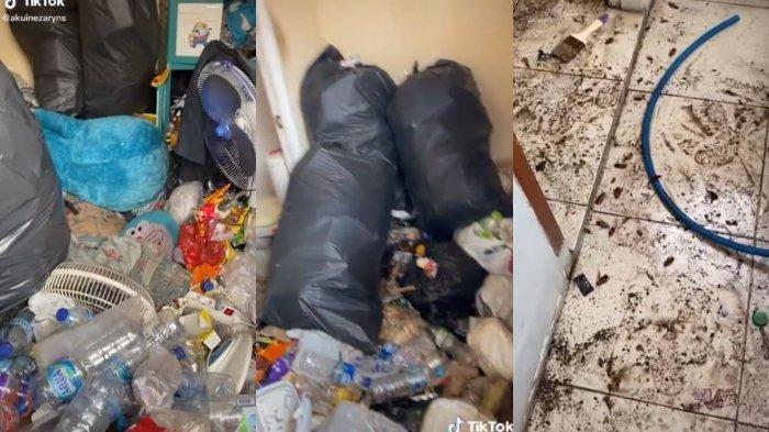 Viral Kamar Kos Penuh Sampah, Tukang yang Akan Renovasi Sampai Merinding