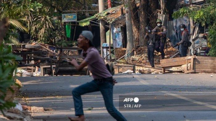 Cerita Demonstran Kudeta Militer Myanmar yang Ditahan di Ruang Neraka, Dipukul Menggunakan Rantai