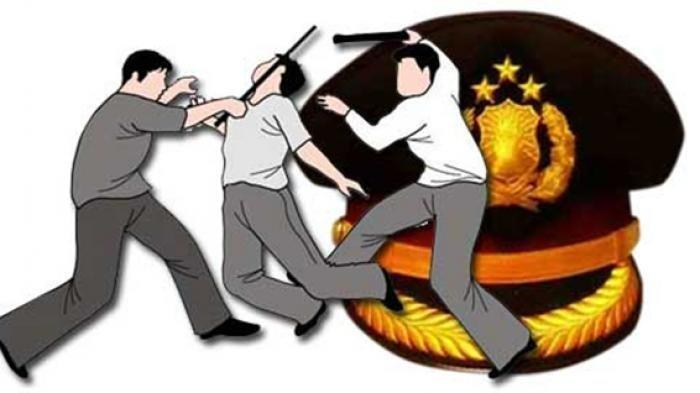 Dosen Fakultas Hukum Diseret dan Dipukuli di Atas Mobol Polisi, Polisi Salah Tangkap?