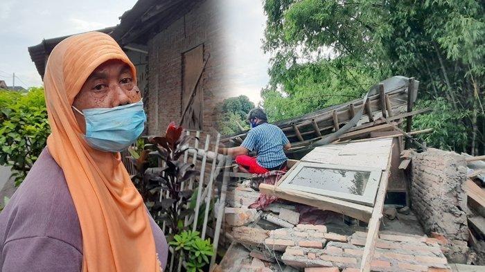 Tukang Tambal Ban Harus Relakan Rumahnya Diterjang Air Sungai Bengawan Solo, Tak Ada Uang Renovasi