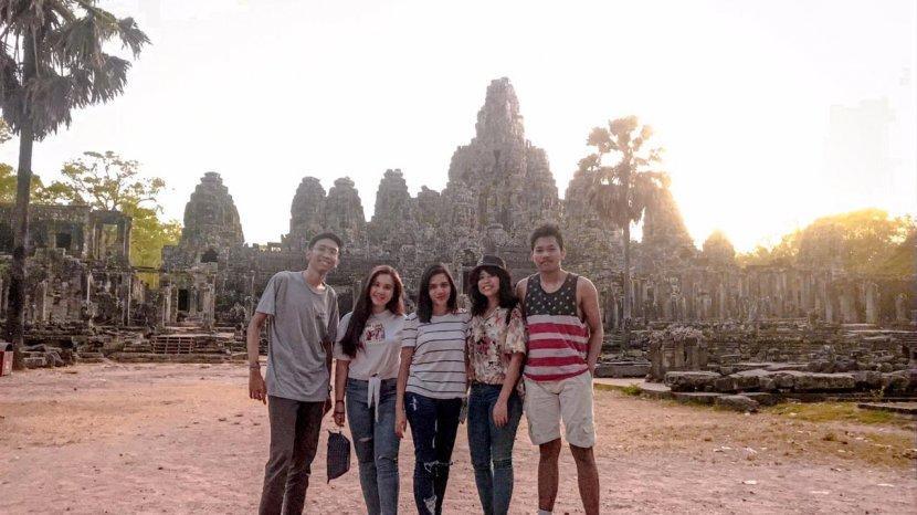 Kisah Mahasiswa yang Magang di KBRI Bangkok: Sempat Kunjungi Angkor Wat di Kamboja