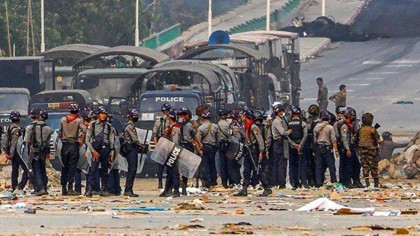 Militer Myanmar Tembak 38 Pengunjuk Rasa, Total 126 Korban Jiwa Sejak 1 Februari 2021