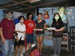 Paroki St.Ignatius Manado Bagikan Bantuan kepada 42 Kepala Keluarga