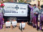 Caritas Indonesia Salurkan Bantuan ke-21 Keuskupan di Indonesia, Respon COVID-19