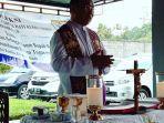 PSE Paroki Hati Kudus Yesus (HKY) Karombasan Bagikan Sumbangan Tahap Dua Lawan Covid-19