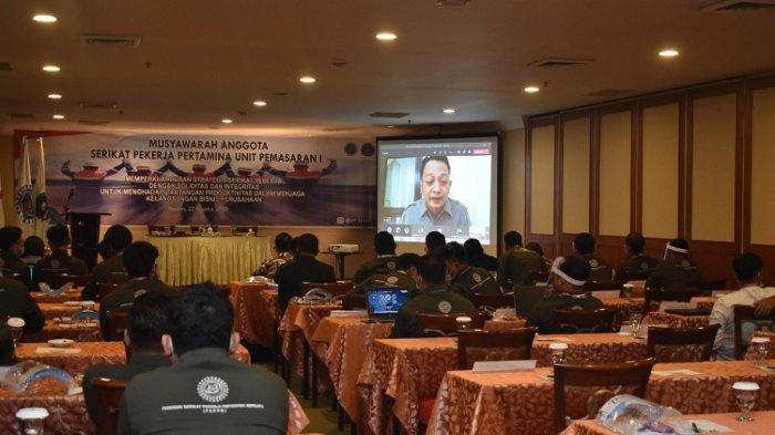 Serikat Pekerja Pertamina UPMS I Gelar Sidang Musyawarah Anggota ke-5 di Medan