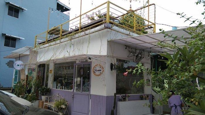 Lavender The Purple, Kafe Pertama yang Usung Konsep Lavender di Medan