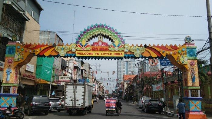 Kawasan Little India Medan
