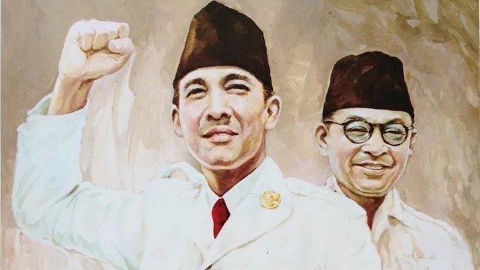 Kisah Persahabatan Sejati Soekarno-Hatta: Beda Pandangan Politik, tapi Saling Sayang di saat Susah