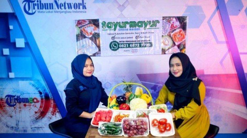 Nurul Ayu Ifany, Owner Sayur Mayur Online Medan, Sukses Ubah Sistem Jualan Offline ke Online