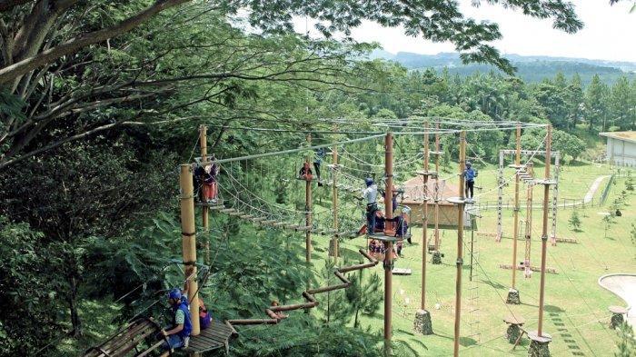 Taman Budaya Sentul City, Tempat Bermain Outbound Terluas yang Tawarkan Pemandangan 4 Gunung