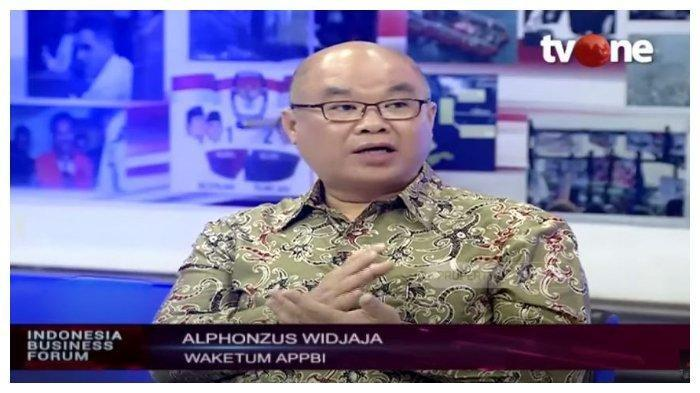 Ketua Umum Asosiasi Pengelola Pusat Belanja Indonesia (APPBI), Alphonzus Widjaja dalam Indonesia Business Forum, Kamis (4/5/2020)