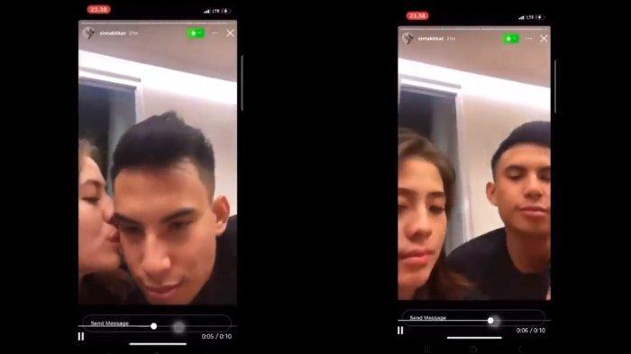 Video ciuman diduga Adhisty Zara dan Niko Al Hakim beredar di media sosial.