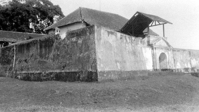 Penampakan Benteng Willem II pada masa lampau