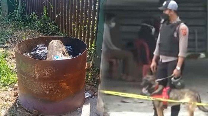 Anjing pelacak dikerahkan mencari jejak yang dicurigai dalam kasus pembunuhan ibu dan anak di Subang