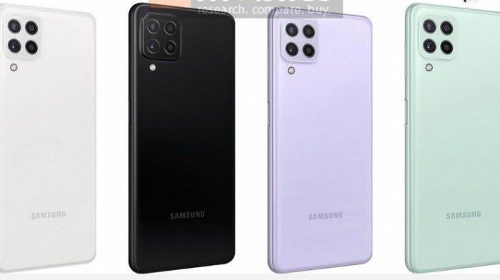Samsung Galaxy A22 5G hadir dalam empat pilihan warna
