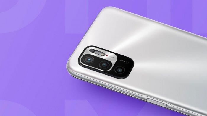 Bagian kamera belakang Redmi Note 10T 5G