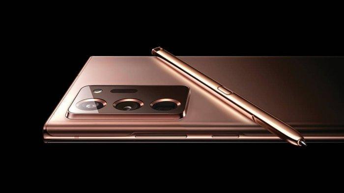Bagian kamera belakang Samsung Galaxy Note20 Ultra 5G