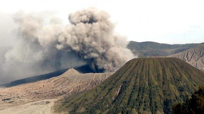 Pemandangan Gunung Bromo di Kabupaten Probolinggo, Jawa Timur