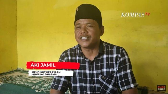 Aki Jamal, pengikut Kerajaan Angling Dharma mengaku sang baginda adalah sosok luar biasa raja asli Banten.