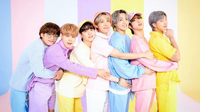 Pemotretan FAMILY PORTRAIT BTS untuk dan Anniversary ke-8 dan promosi lagu Butter