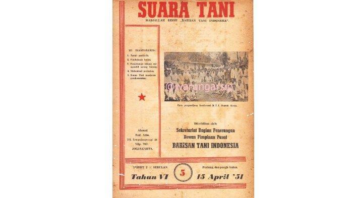 Majalah milik Barisan Tani Indonesia.