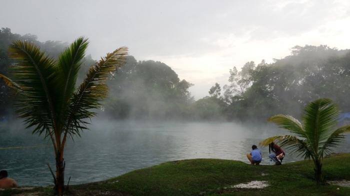 Danau Linting di Deli Serdang, Sumatera Utara.