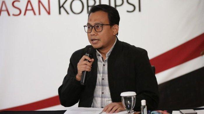 Juru Bicara KPK Ali Fikri dalam konferensi pers Kinerja KPK Semester I 2020, Selasa (18/8/2020).