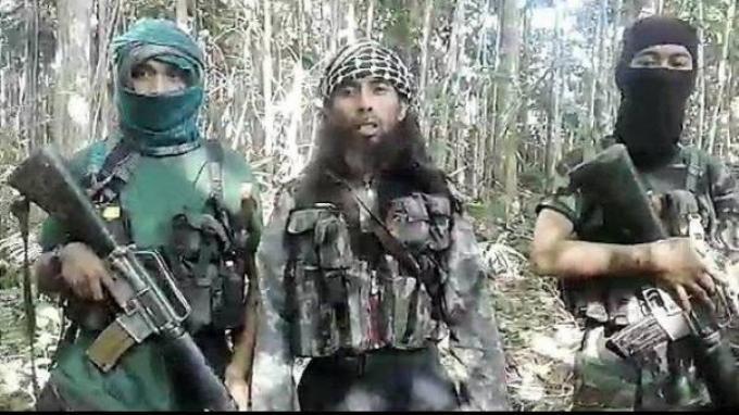 Foto Anggota kelompok Mujahidin Indonesia Timur ( MIT) pimpinan Ali Kalora