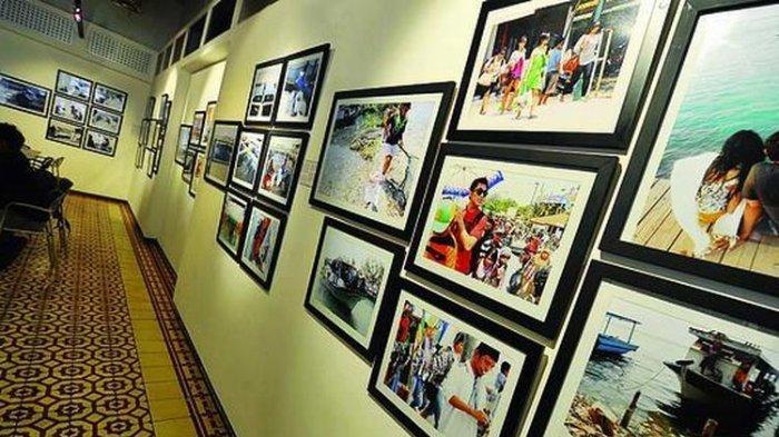 Galeri Foto Jurnalistik ANTARA menjadi galeri foto satu-satunya di Asia Tenggara. (KOMPAS/RADITYA HELABUMI)