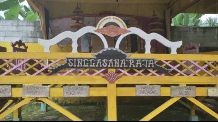 Heboh kemunculan Kerajaan Angling Dharma Pandeglang Banten.