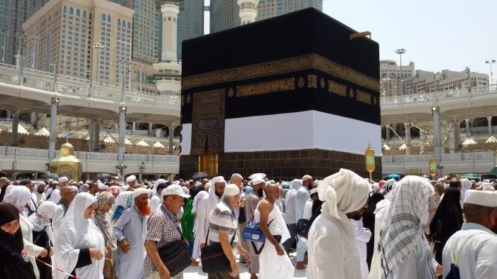 Suasana di Masjidil Haram dipadati jemaah