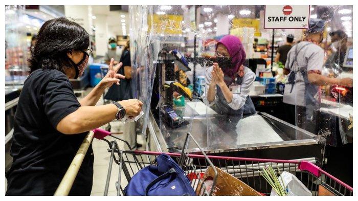 Ilustrasi pusat perbelanjaan. Pada masa perpanjangan PPKM, pusat perbelanjaan buka hingga pukul 20.00 waktu setempat.