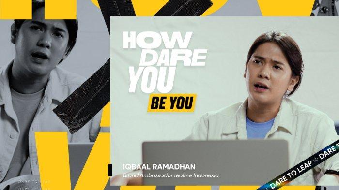Iqbaal Ramadhan, Brand Ambassador realme Indonesia