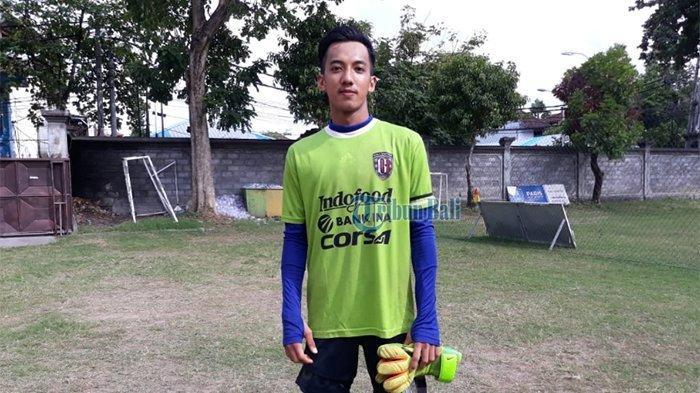 Jefri Wibowo Suliarno di Lapangan Gelora Trisakti, Kuta, Bali, Selasa (3/7/2018).