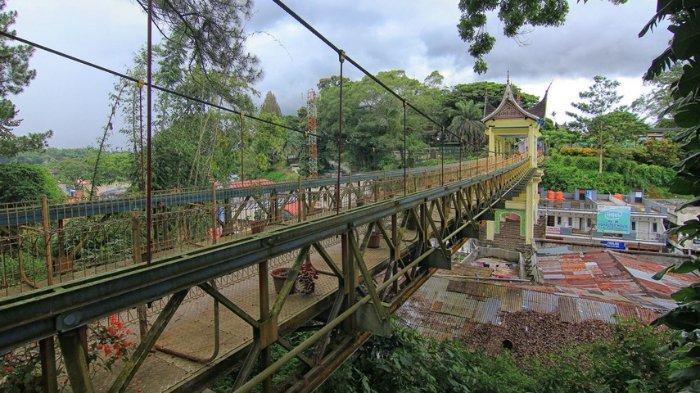 Jembatan Limpapeh Bukittinggi Sumatera Barat