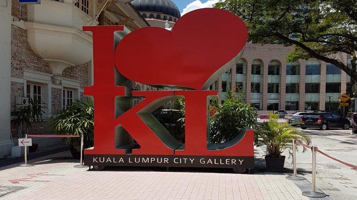 Ikon I Love KL di Kuala Lumpur City Gallery