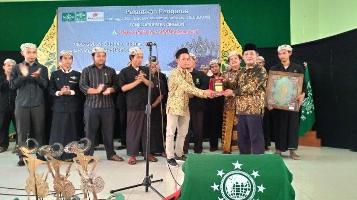 Pelantikan Pengurus Lesbumi PCNU Kabupaten Cirebon.