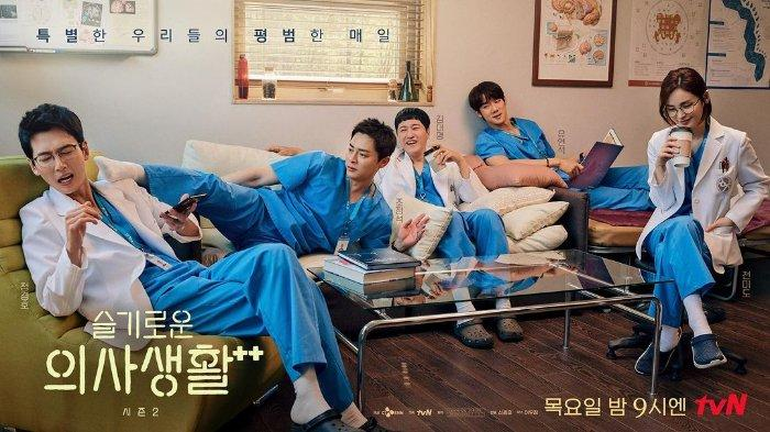 Para pemeran utama drama Korea Hospital Playlist Season 2