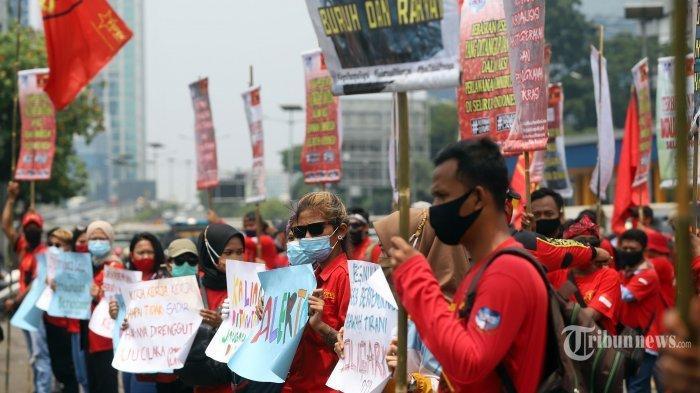 Ilustrasi demonstrasi atau unjuk rasa