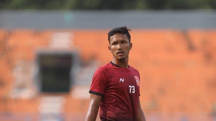 Muhammad Alaik Sobrina, yang menjalani trial bersama Borneo FC.