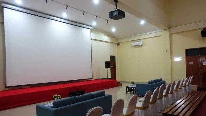 Ruang teater di Museum Paseban yang digunakan untuk menonton film dokumenter tentang peristiwa G30S/PKI yang berdurasi 30 menit.