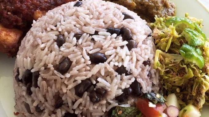 Nasi kacang merah